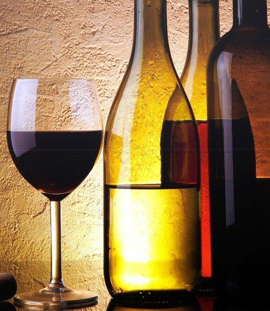 bouteille vin ouverte