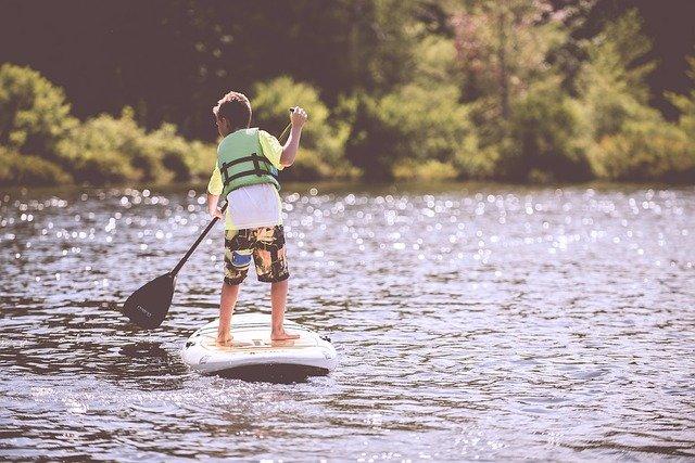 paddle enfant